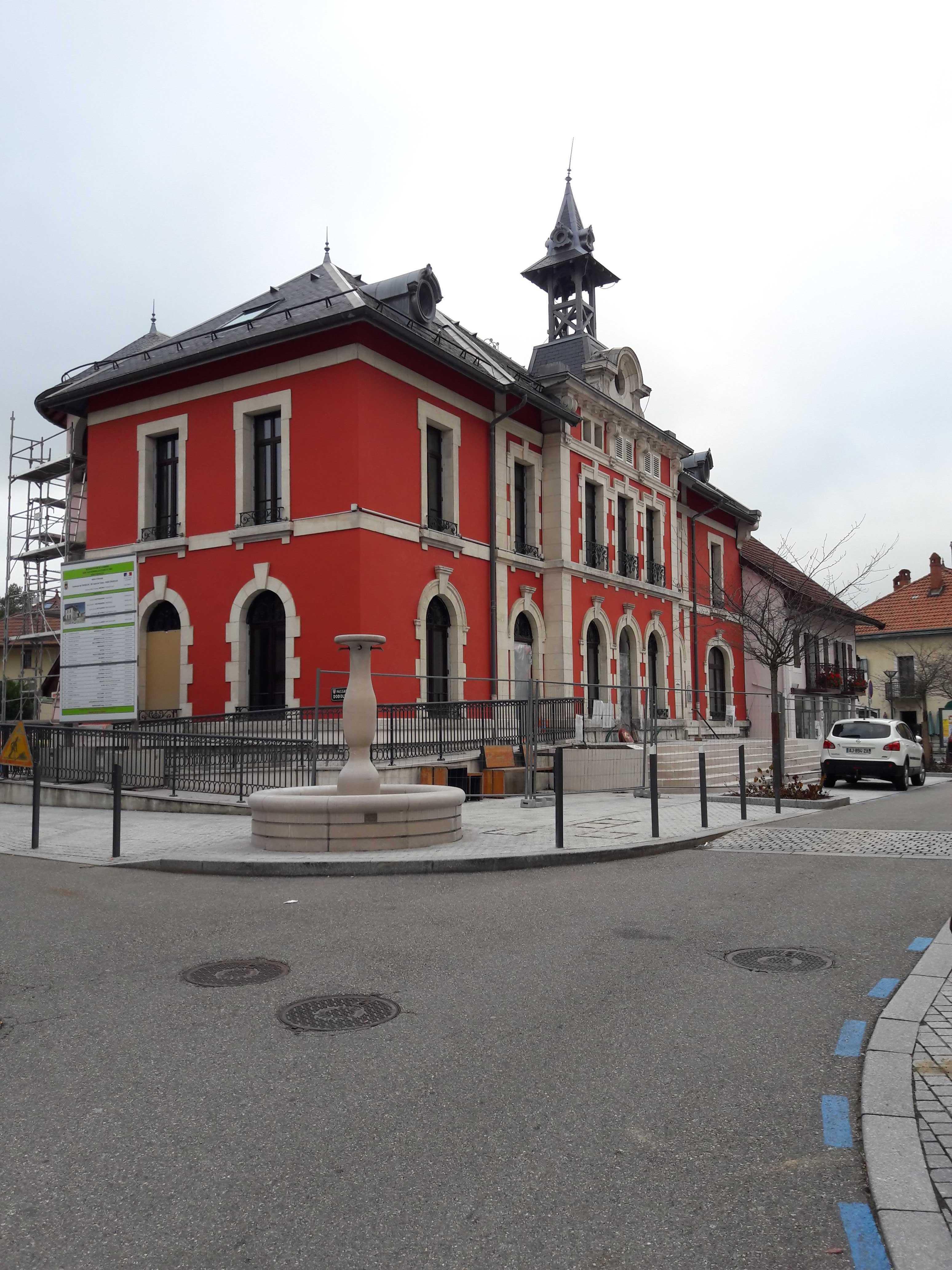 Nouveau look de la Mairie