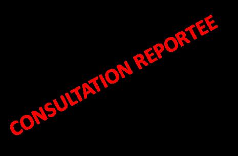 CONSULTATION REPORTEE