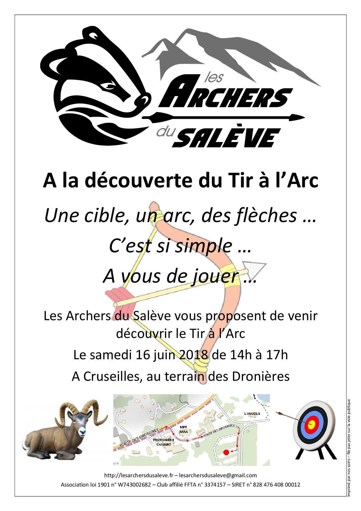 Les Archers du Saleve - 16 juin 2018