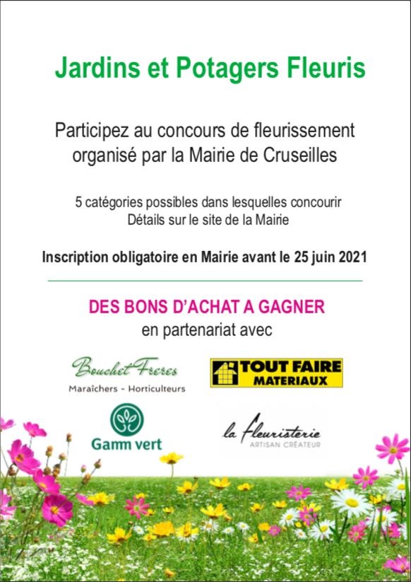 Concours des jardins fleuris et potagers